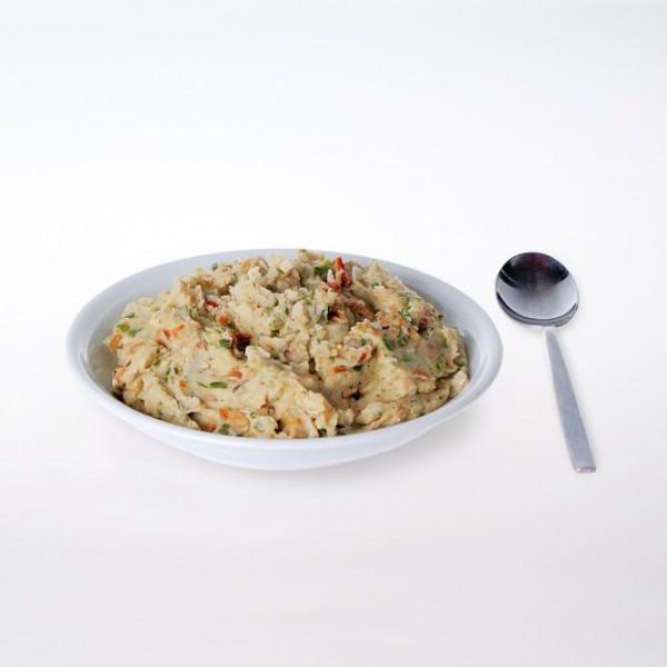 Kartoffeltopf mit Huhn cremig 2 Portionen