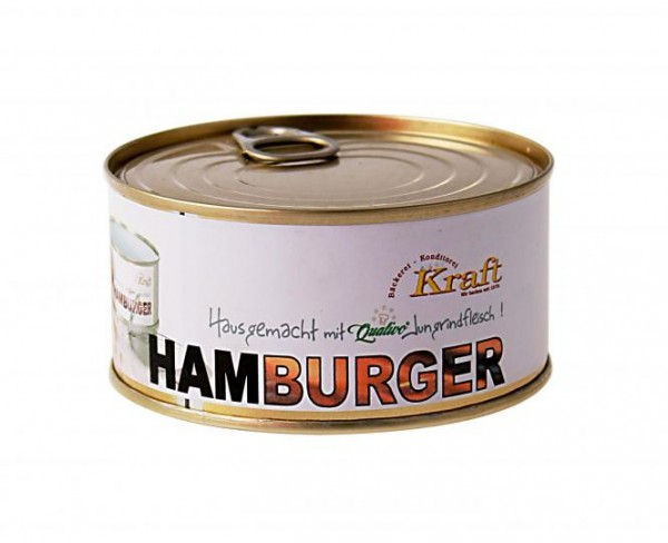 Hamburger in der Dose